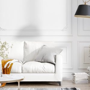 Photo studio image of a Sofa